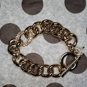 Victoria's Secret gold bracelet